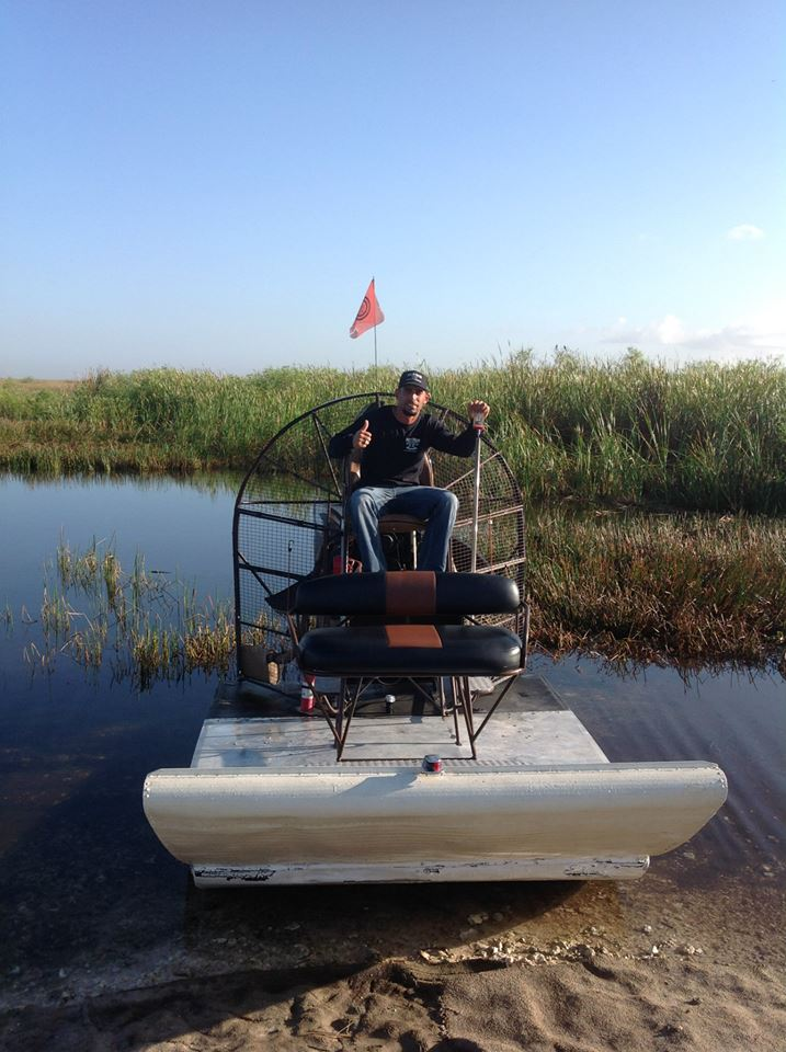 Airboat In Everglades Gallery