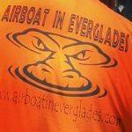 orange airboat