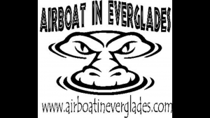 airboat in everglades logo