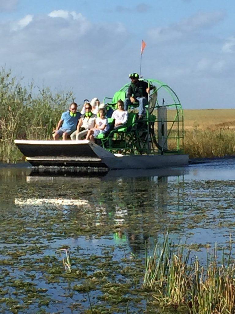Hydroglisseur Everglades Floride