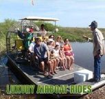 Luxury airboat tour