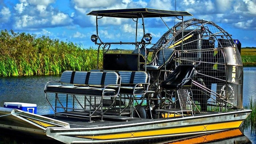 Airboat In Everglades ttop