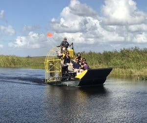 Everglades airboat Miami
