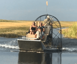Luxury Airboat Rides In East Everglades