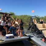 Airboat party