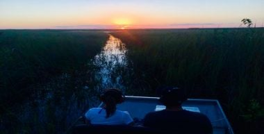 Anytime airboat tour