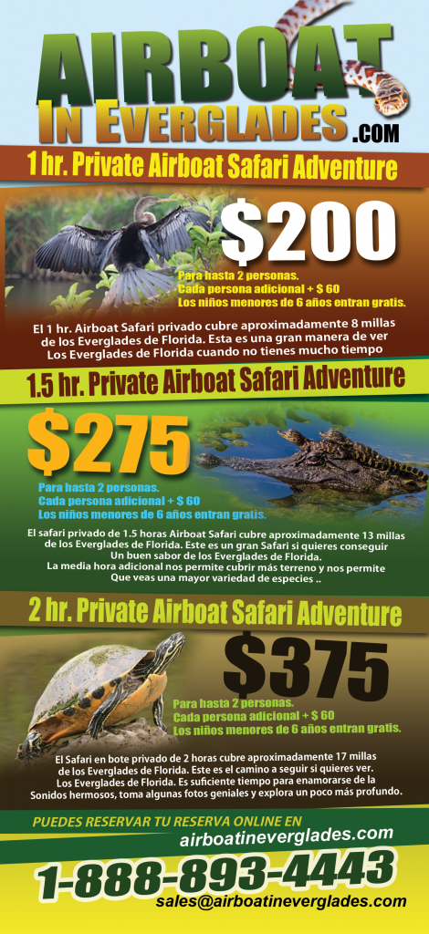 SPANISH AIRBOAT TOUR