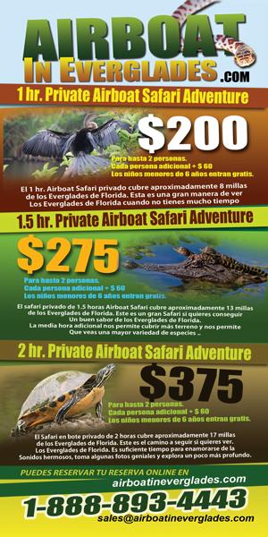 SPANISH AIRBOAT TOUR