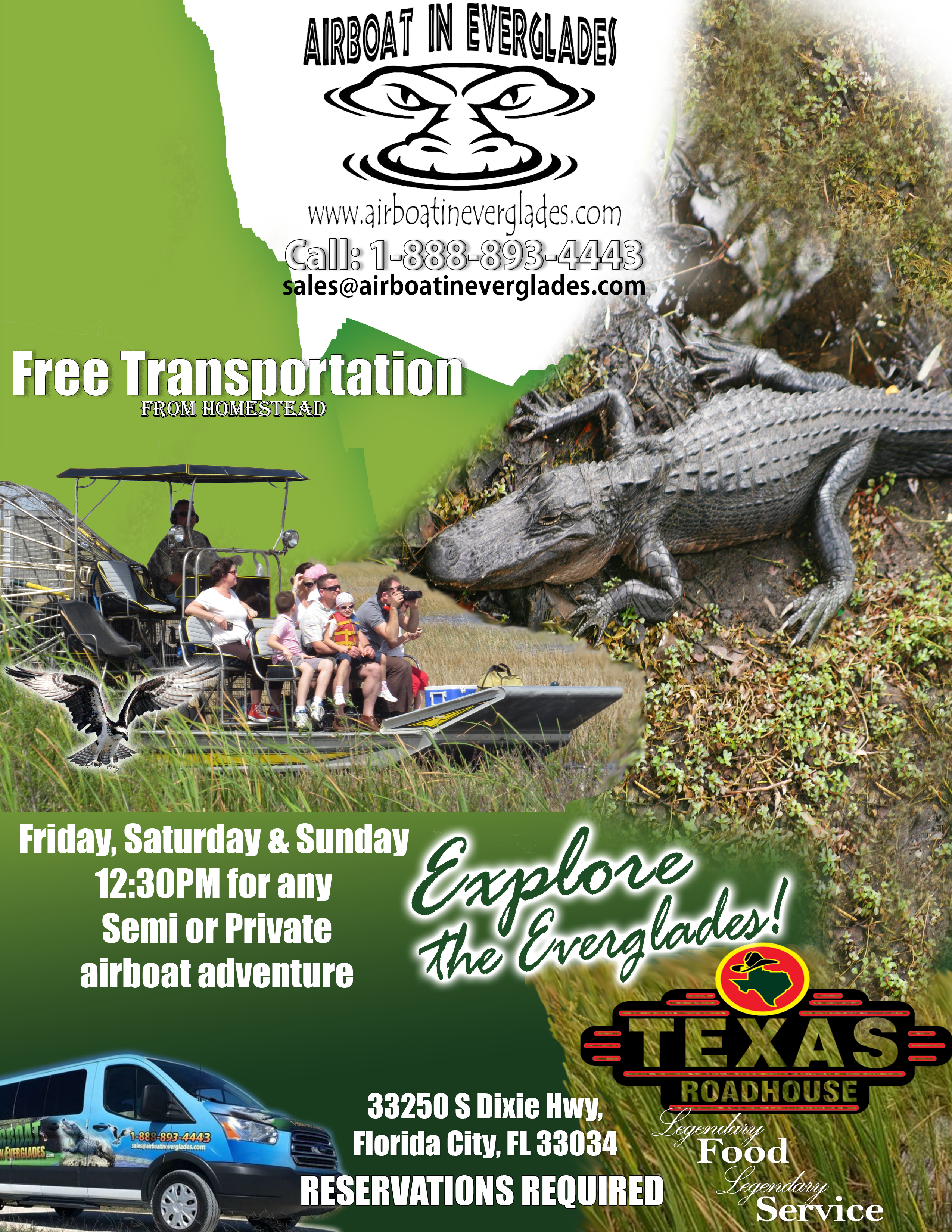 Airboat Tour from the Everglades