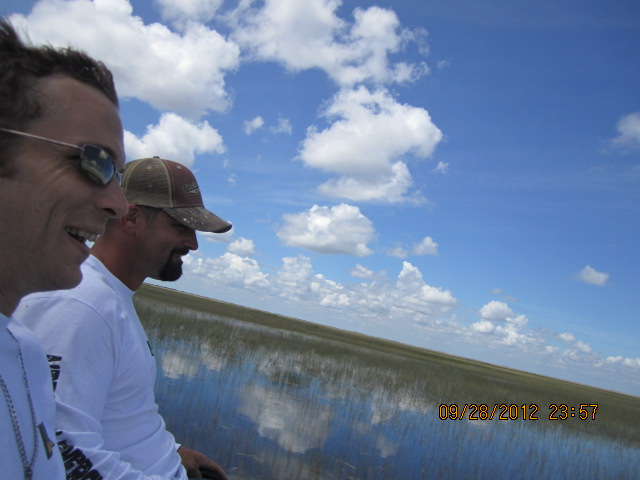 best airboat ride along the gator alley - Airboat In Everglades