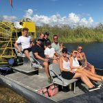 Airboat In Everglades Miami