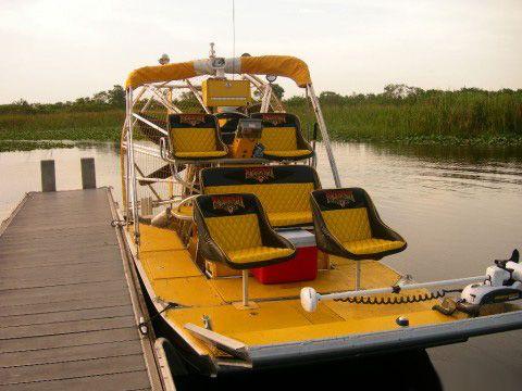 Airboat In Everglades Miami