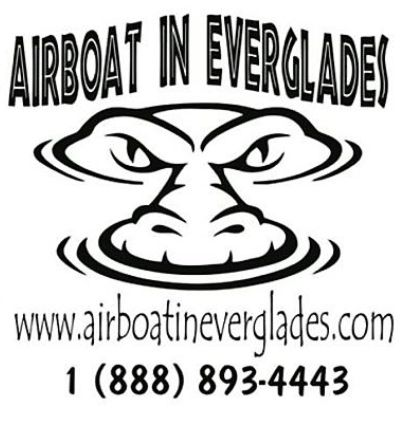 best airboat tour logo